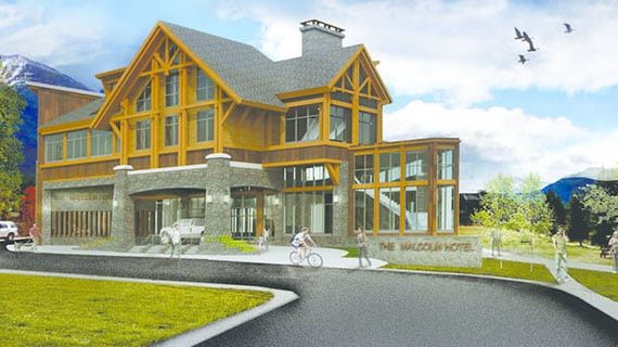 Canmore Alberta's first four-star hotel opening in November