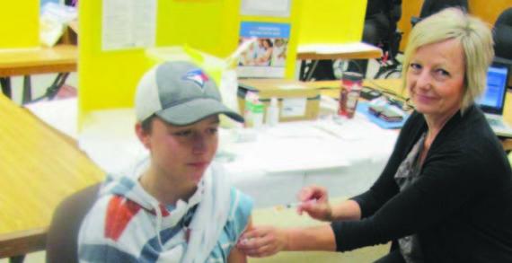 Immunization clinics ongoing across province