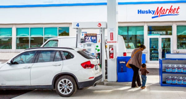Husky looking at selling its gas stations