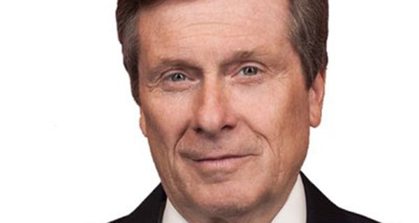 John Tory deserves a second term as Toronto's mayor