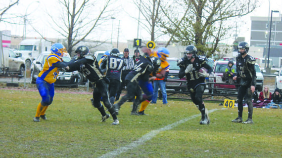 Kobras close out regular season with a loss in the mud and rain