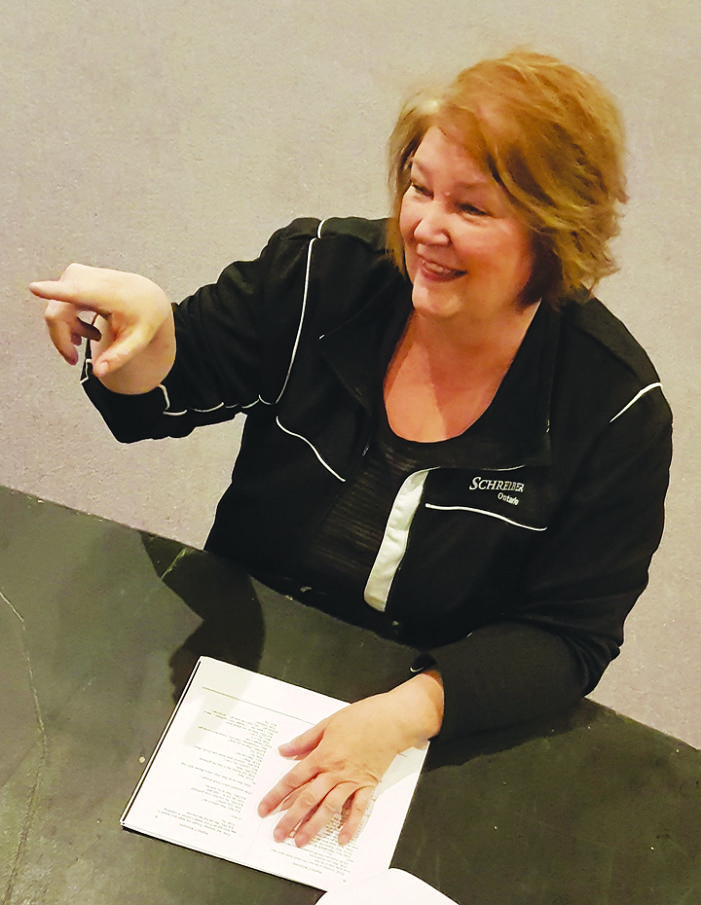 Getting into the act: Judy Lavoie a key part of dinner theatre productions