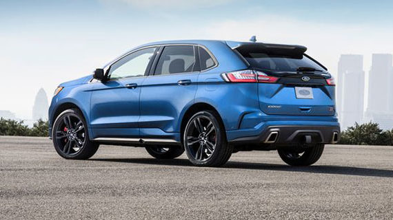 Ford Edge ST has serious get up and go