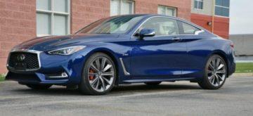 Infiniti Q60 Red Sport offers high-end motoring