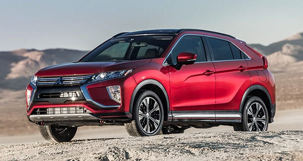 Mitsubishi Eclipse Cross: part SUV, part sport cute