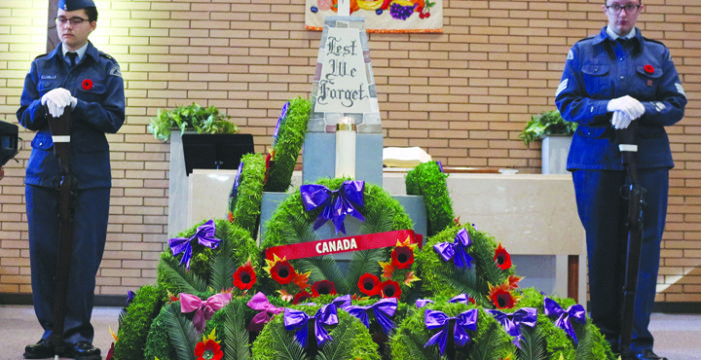 Remembrance Day service honours veterans
