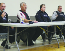 Citizens present concerns at RCMP town hall meeting
