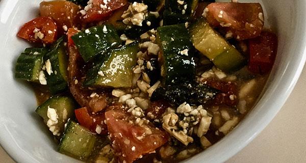 Try Greek Salad with a Maple Twist