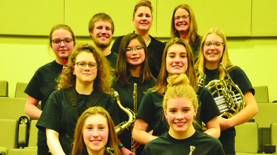Local students take musical talents to honour groups