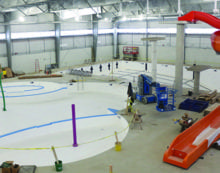 Aquatic centre could open early in March, official says