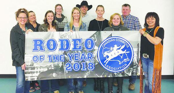 Kindersley rodeo earns top honours once again