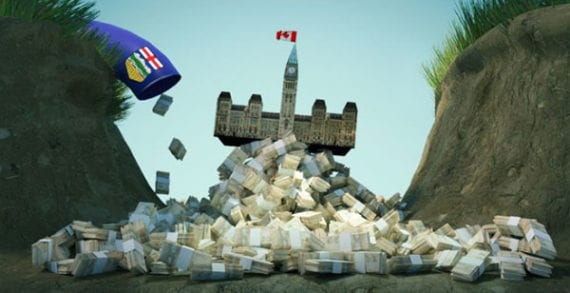 Alberta plays huge role in keeping federal deficit down: report
