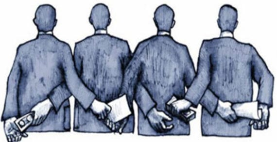 Corporate corruption spreads its wings around the world