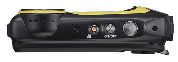 The FujiFilm FinePix XP140 has easy-to-reach controls for quick point and shoot