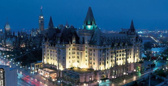 Chateau Laurier to be defaced because leaders wouldn't lead