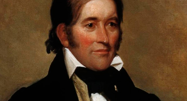 The legend of Davy Crockett