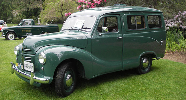 a 1953 A40 Countryman estate wagon