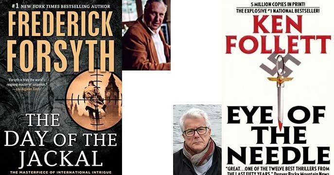 In praise of talented storytellers Forsyth, Follett